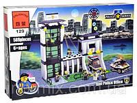 Конструктор Brick Полицейский участок 129