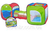Палатка детская Двойная с переходом A999-120