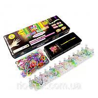 Набор резинок для плетения браслетов Loom Bands Colorful 875 шт.