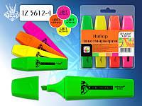 Набор текст-маркеров (4 цвета), «SCHREIBER», Китай, Арт. S-2499