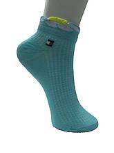 Шкарпетки жіночі бавовна короткі сітка кольорові пр-під Туреччина