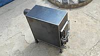 Надежная дровяная печь, металл 4 мм / ручная работа