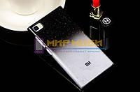 Чехол-бампер пластик Капли Дождя XIAOMI MI3 M3 Черный