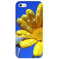 Чехол FaceCase SWAROVSKI Samsung G900 Galaxy S5 Yellow Petals