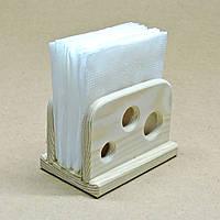 Салфетница деревянная Хениль мини без отделки