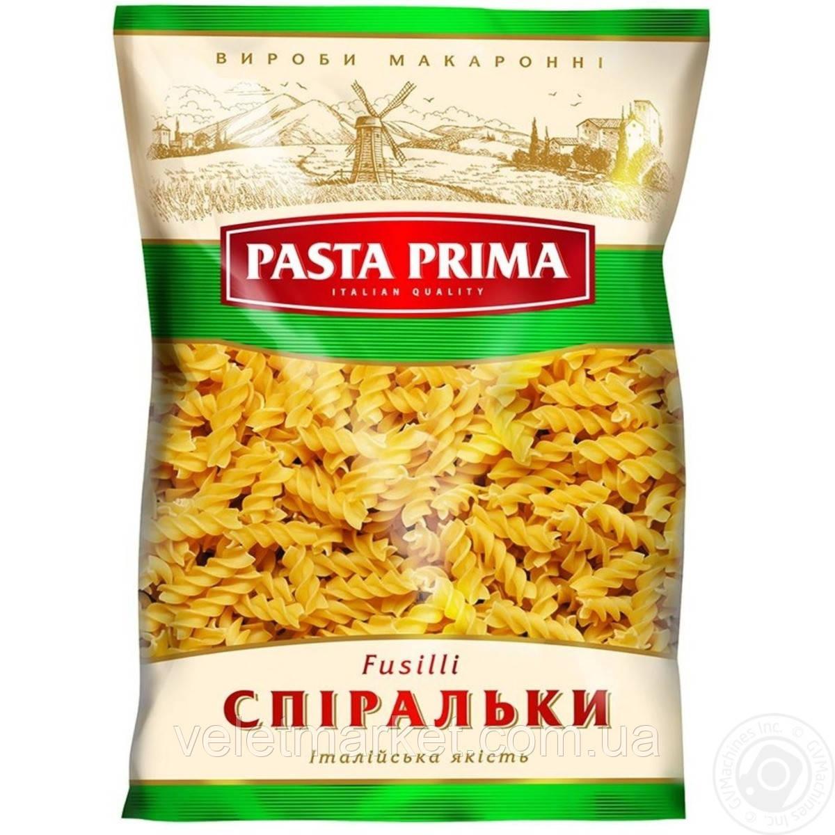 Макароны Pasta Prima Спиральки 800 г