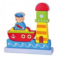 Развивающая игрушка Viga Toys Магнитный пазл Море (59704)