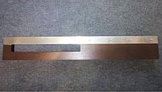 Деревянная настенная вешалка для одежды 80см для примерочной, фото 2