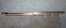 Деревянная настенная вешалка для одежды 80см для примерочной, фото 3