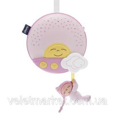 Мобиль Chicco Sunset музыкальная панель розовая (06992.10)