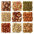 Орехи, семечки, сухофрукты.