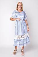 Платье Вита 50-54 голубой, фото 1
