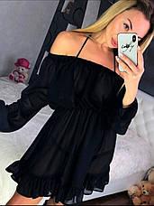 Платье - туника пляжное шифоновое, фото 3