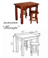 Деревянная мебель для кафе баров ресторанов