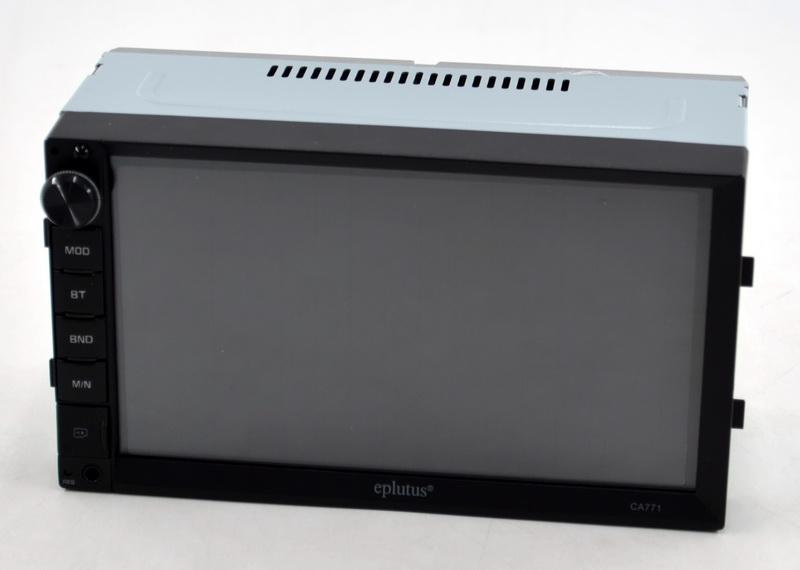 """Автомагнитола Eplutus CA771 экран сенсорный 7"""" мультимедийная 2DIN короткая панель"""