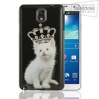 Чехол FaceCase SWAROVSKI Samsung N9000 (Note3) Fluffy Prince
