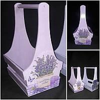 Ящик ручной работы в технике декупаж, разные расцветки, 37х25х19 см., 450 грн.