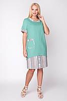 Платье Ивента 50-58 мята, фото 1