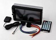 Автомагнитола 2 дин 7002 GT с GPS Bluetooth сенсорный мультимедийный плеер в машину с навигатором