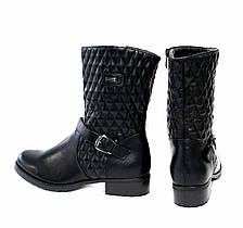 Жіночі черевики MTT Fashion 36 Black, фото 3