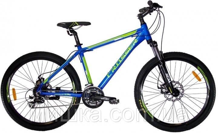"""Велосипед Crosser Count-1*19 29"""" синій гірський алюмінієвий"""