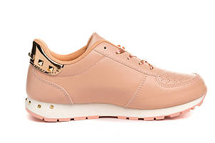 Кроссовки женские Cool pink-gold 36, фото 2