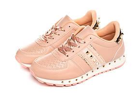 Кроссовки женские Cool pink-gold 38, фото 2