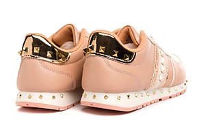 Кроссовки женские Cool pink-gold 40, фото 2