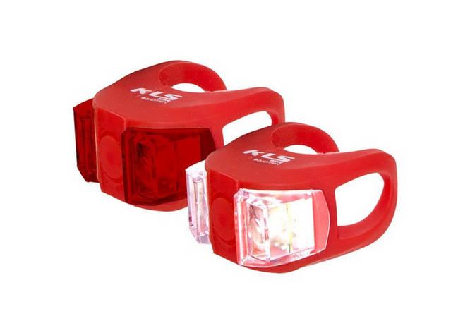 Велосвітло KLS Twins red, фото 2