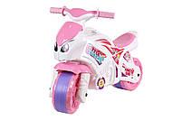Мотоцикл толокар каталка Технок мотобайк 5798, Харлей Harley рожевий