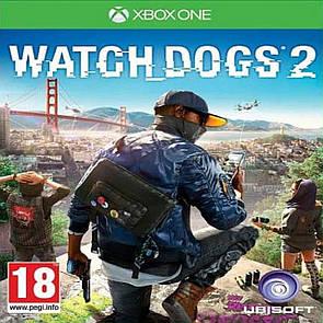 Watch Dogs 2 XBOX ONE (англійська версія) (Б/В)