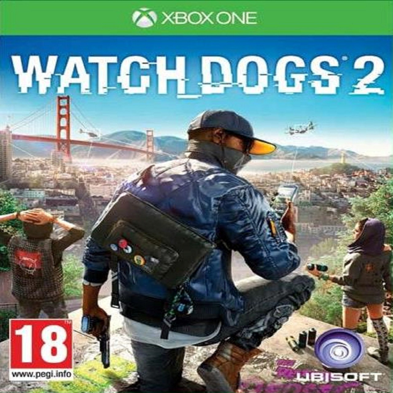 Watch Dogs 2 XBOX ONE ENG (Б/В)