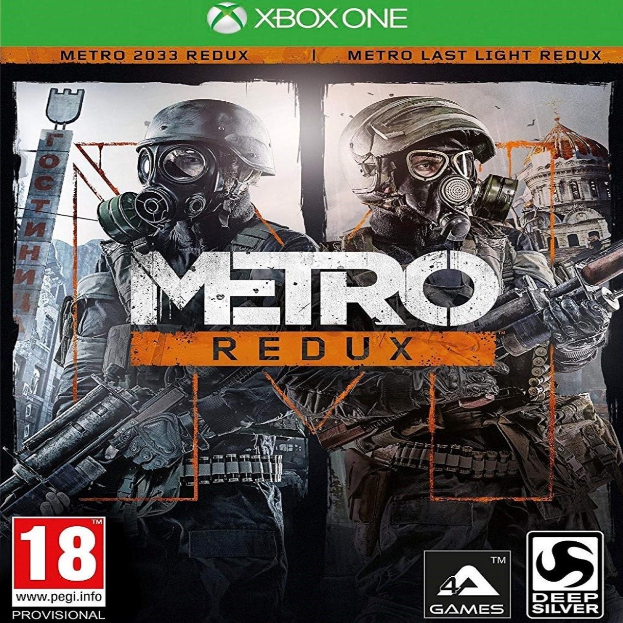 Metro Redux (російська версія) XBOX ONE (Б/В)