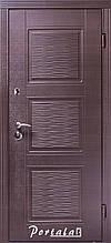 Двери квартирные, серия Стандарт, модель Верона 3, гнутый профиль, 2 контура уплотнения, 2 замка
