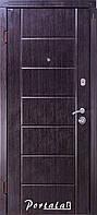 Двери квартирные, серия Стандарт, модель Токио, гнутый профиль, 2 контура уплотнения, 2 замка