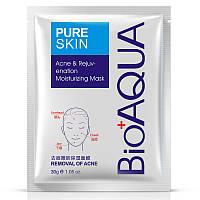 Увлажняющая и восстанавливающая маска от акне Bioaqua Pure Skin Acne Rejuvenation Moisturizing Mask (30г)