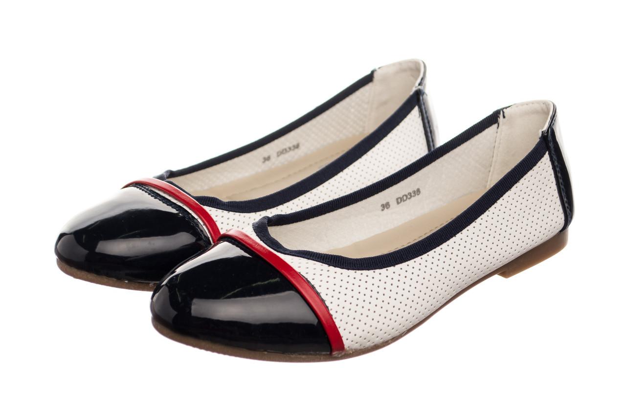Жіночі балетки Collection 36 Lucky Black White