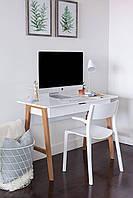 """Письменный стол  """"Требл"""" для подростка из дерева в стиле loft, фото 1"""