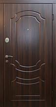 Двери уличные, серия Стандарт, модель Классик, гнутый профиль, 2 контура уплотнения, 2 замка