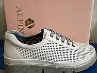 Женские кожаные туфли на шнурках Alpino 36 размер, фото 1