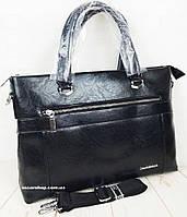 Качественный мужской портфель для документов А-4. Офисная мужская сумка. Портфель для ноутбука.  СП33