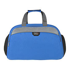 Дорожная сумка TONGSHENG голубая 49x32x22 полиэстр  кс999028гол, фото 2