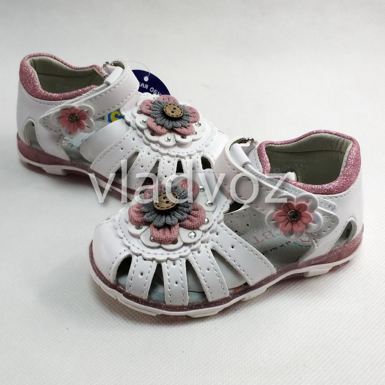 Детские светящиеся босоножки сандалии сандали с led подсветкой для девочки