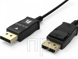 Малодымный активный оптоволоконный кабель DisplayPort CLS-AOCDP-230