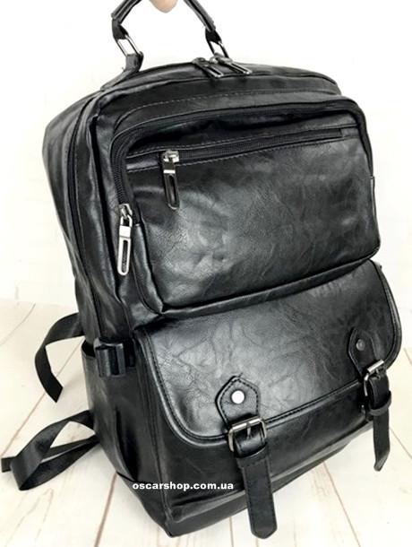 bc8b1a83409c Кожаный рюкзак. Мужской портфель. Сумка для ноутбука. Женский портфель.  Сумка для документов