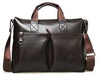 Мужская сумка-портфель Polo под формат А4   КС10-1