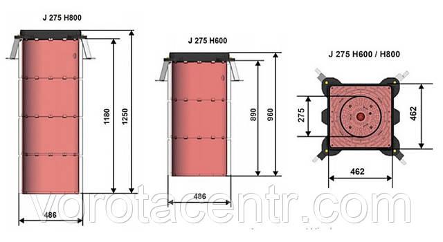 Полуавтоматический боллард FAAC J275 SA
