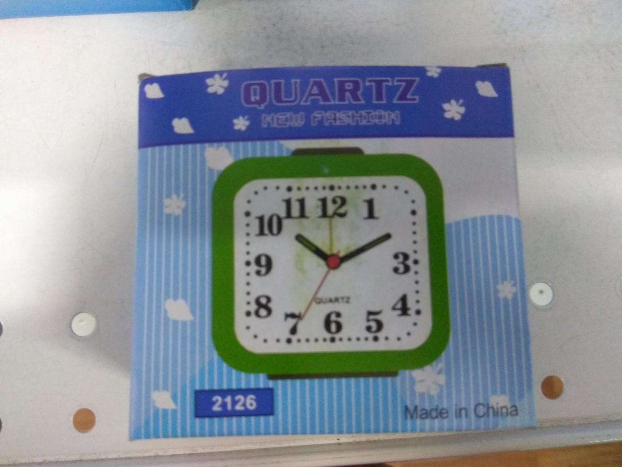 Часы будильник настольные кварцевые 2126