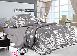 Двуспальный комплект постельного белья 180*220 сатин (11361) TM КРИСПОЛ Украина
