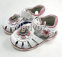 Детские светящиеся босоножки сандалии сандали с led подсветкой для девочки 25р.
